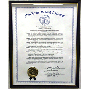 New Jersey Assembly Resolution