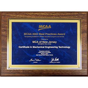 MCAA Best Practices Award